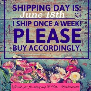 Jewelry - SHIPPING POLICY!